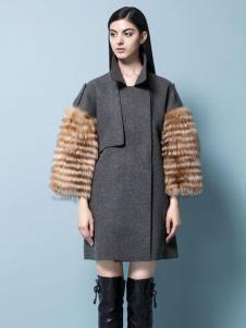 2015米梵女装大衣新品