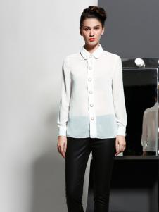 艾露伊白色衬衫