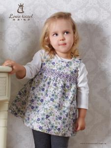 路易迪高女小童连衣裙
