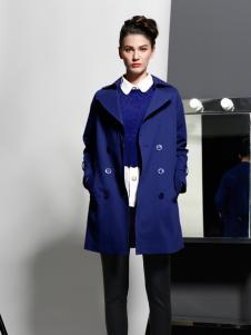 艾露伊宝石蓝外套