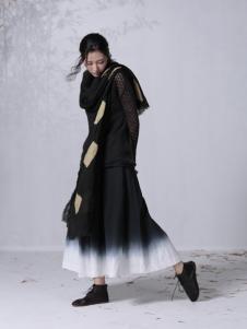 因为ZOLLE女装2015新品时尚棉麻连衣裙