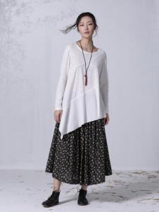因为ZOLLE女装2015新品棉麻裙子