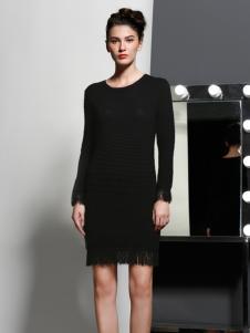 艾露伊黑色连衣裙