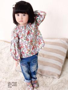 2015兔子杰罗小童装秋季印花T恤