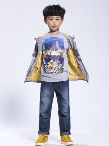 benko缤果童装2015冬装棉服