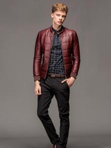 1943S 男装新款红色夹克