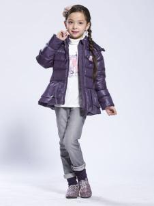 缤果2015年A字版女童羽绒服
