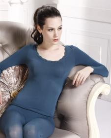 超薄美体衣套装1221湖水蓝