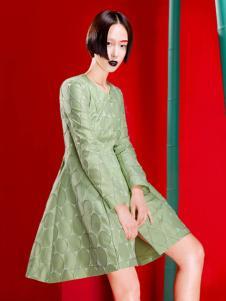 台绣(T-YSKJ)女装艺术连衣裙