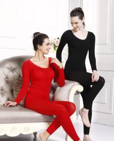 超薄美体衣套装1221大红、黑色