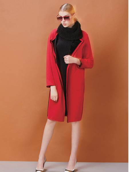 FULLTEAM红色外套
