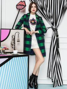 2015年优洛可女装新款秋季大衣