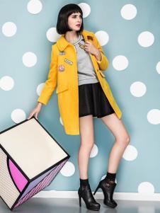 优洛可女装2015秋季大衣