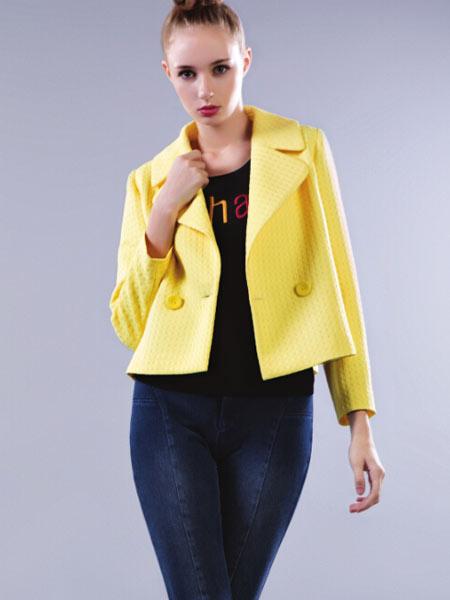 DANTISY丹缇施黄色外套