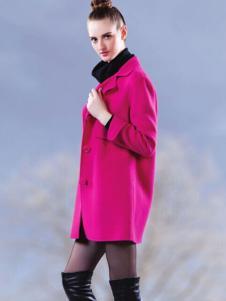DANTISY丹缇施枚红色外套