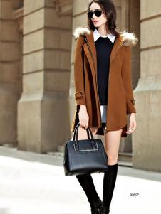 imi艾米女装中款秋冬外套
