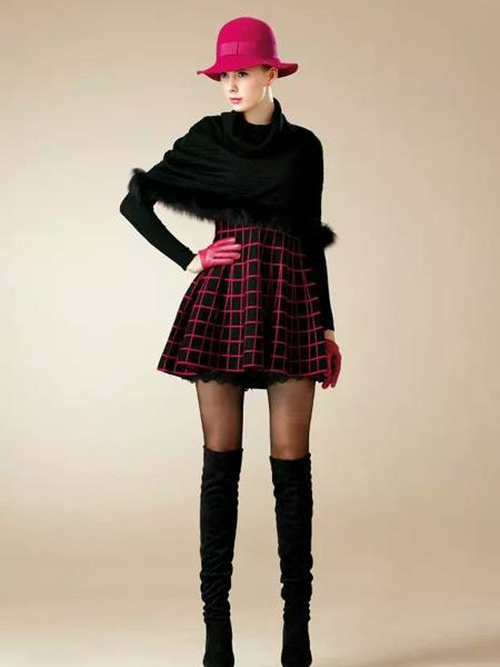 卡缇女装冬季新款小披肩