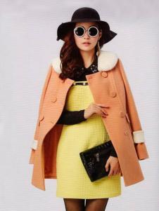 耶丽雅折扣女装冬季新款外套