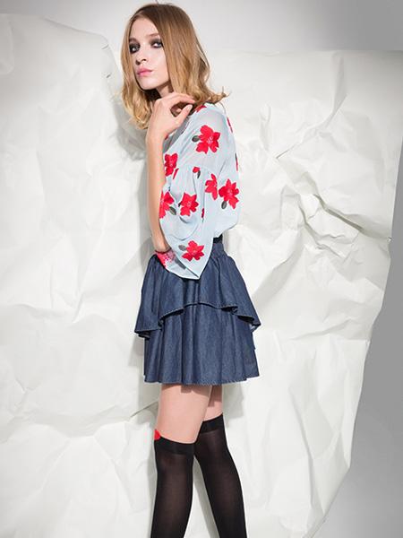 西蔻女装2015春季新品