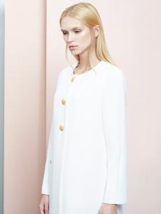 ELLE女装春季新款白色上衣