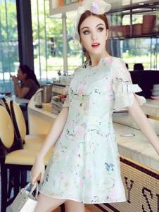 珊版丽女装连衣裙