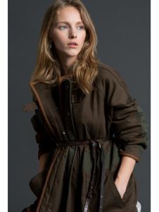 KENNY女装2016绿色时尚春款外套