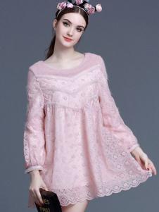 珊版丽仙女连衣裙