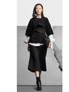 KENNY女装2016新款黑色外套