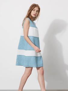 芮玛女装2016夏季新款无袖时尚连衣裙