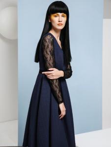 LOEY长款连衣裙