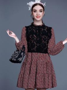 珊版丽贵族连衣裙