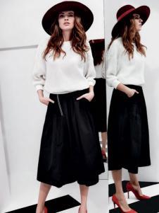 玛诗可黑色半裙