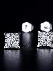 珂兰钻石耳钉