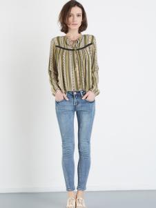 asobio牛仔裤