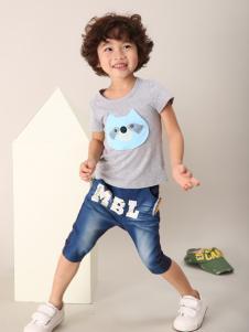 玛宝乐童装T恤