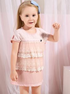 2016贝乐鼠童装连衣裙