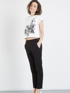 asobio黑色长裤
