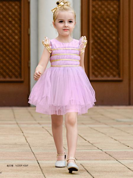 贵族童话童装新品公主裙 塑造甜美可爱小公主