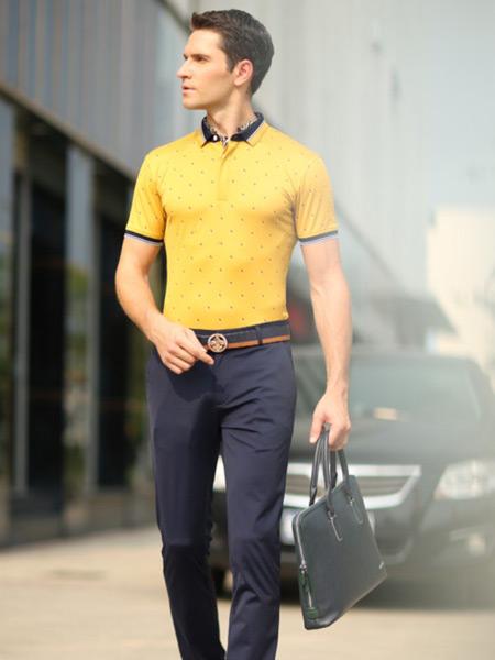 卡度尼男装2016夏季新款polo杉