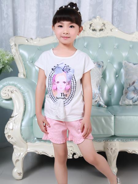 西瓜王子印花女童T恤
