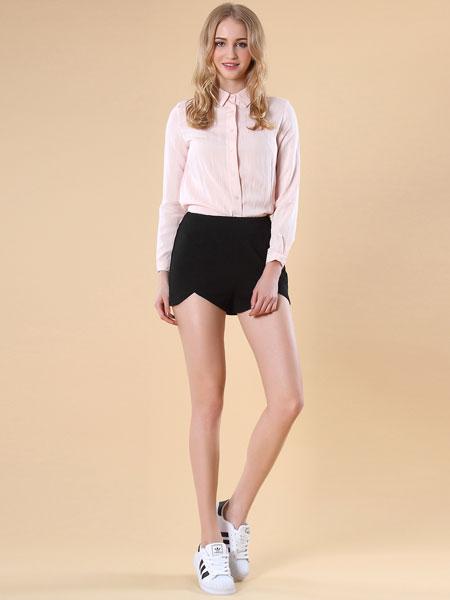 37度love粉色衬衫
