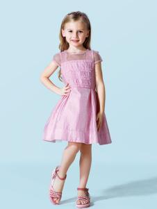 schwartz粉色连衣裙