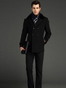 劲霸男装呢大衣