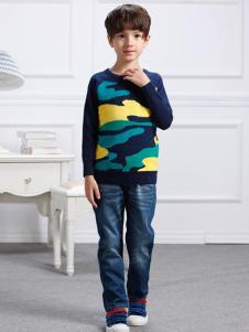 卡米丘男童针织衫