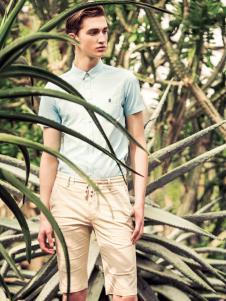 翡翠男装绿色衬衫