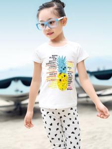 YY树女童T恤