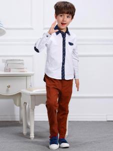 卡米丘童装卡米丘男童衬衫
