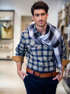 瑞士莱茵男士衬衫