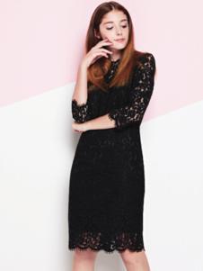 NANCY·K蕾丝裙