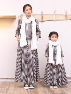 天使舞台格纹连衣裙